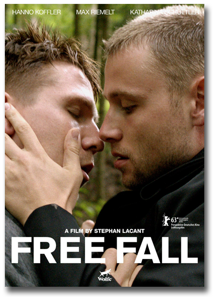 Movie poster for Free Fall film