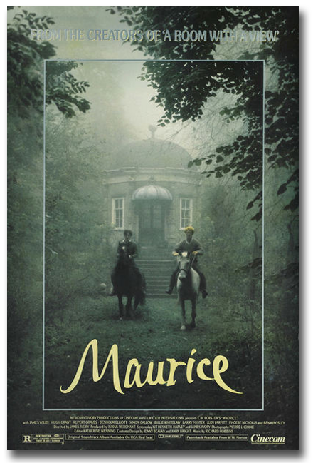 "Movie poster for ""Maurice"""