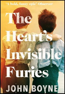 Cover for John Boyne's book The Heart's Invisible Furies